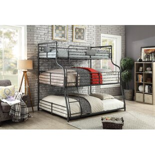 Compare Prather Twin Over Full Over Queen Bunk Bed by Harriet Bee Reviews (2019) & Buyer's Guide