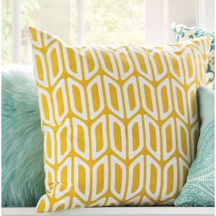 Arsdale Geometric Cotton Throw Pillow Cover & Insert