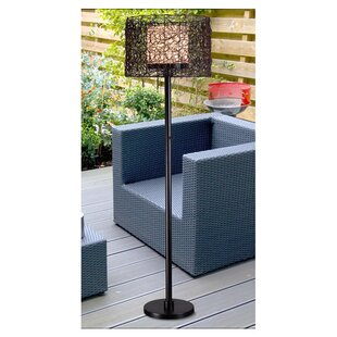 Outdoor patio lamps wayfair fraley outdoor 58 floor lamp aloadofball Choice Image