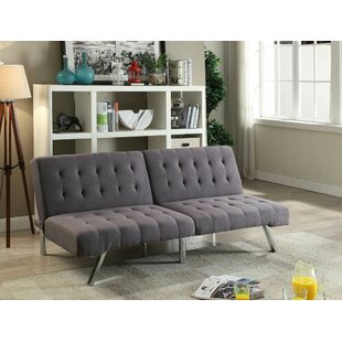 Poundex Bobkona Cleavon Convertible Sofa