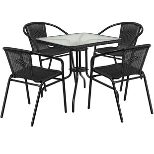 Black Patio Dining Sets You Ll Love Wayfair
