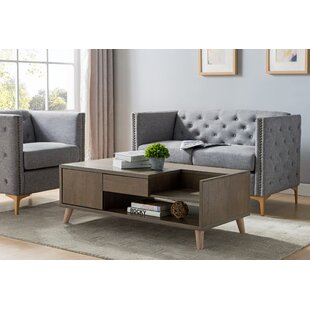 Hani Coffee Table with Storage by Union Rustic
