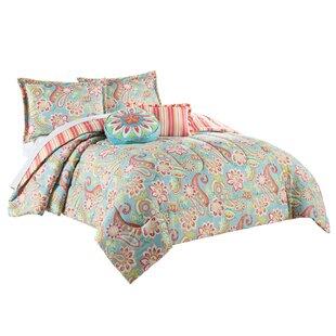 Waverly Wild Card Reversible Comforter Set