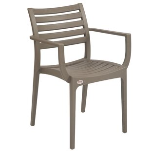 Kahwajian Stacking Patio Dining Chair (Set of 2)
