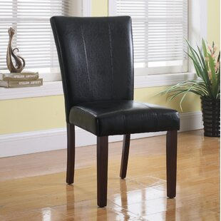 Faux Leather Side Chair (Set of 2) by Bes..