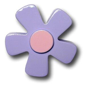 Handpainted Flower Novelty Knob