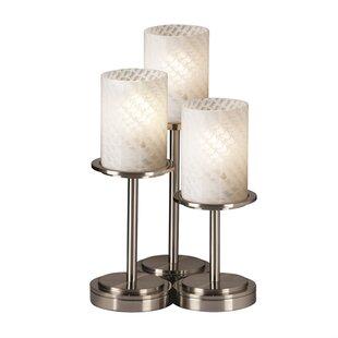 Brayden Studio Salinas Cylinder Table Lamp Set