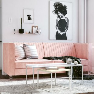 Arabelle 3 Seater Clic Clac Sofa By CosmoLiving By Cosmopolitan