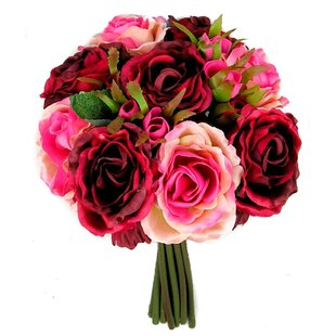 Red rose artificial flowers youll love wayfair red rose artificial flowers mightylinksfo