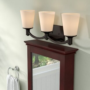 Affordable Cumberbatch 3-Light Vanity Light By Three Posts