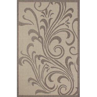 Stacey Light Brown Indoor/Outdoor Area Rug