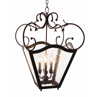 2nd Ave Design Terena 4-Light Outdoor Pendant