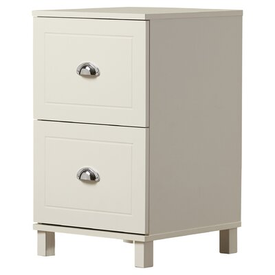 Orange City 2 Drawer Filing Cabinet Color: Antique White by Beachcrest Home