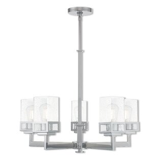 Nailwell 5-Light Shaded Chandelier by Ebern Designs