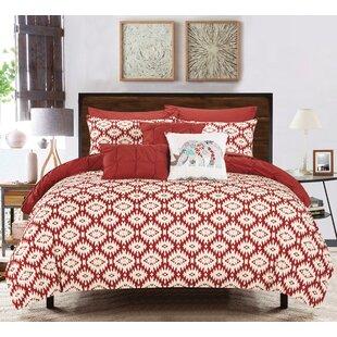 Huber 10 Piece Reversible Comforter Set