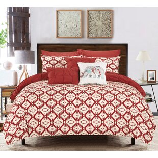 Huber 8 Piece Reversible Comforter Set