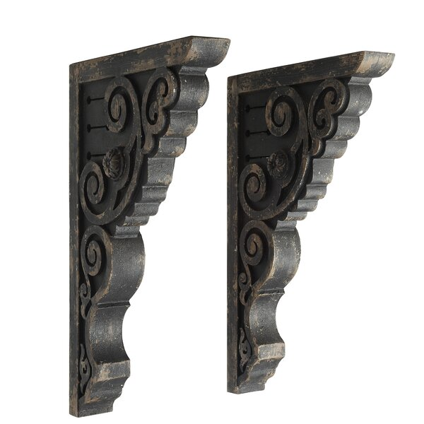 2-1//2 X 8 X 8 Box of 5 Corbels Traditional Wood Corbels//bar Brackets