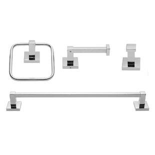 Price comparison Finn 4 Piece Bathroom Hardware Set By Globe Electric Company