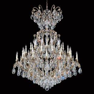 Renaissance 41-Light Chandelier by Schonbek