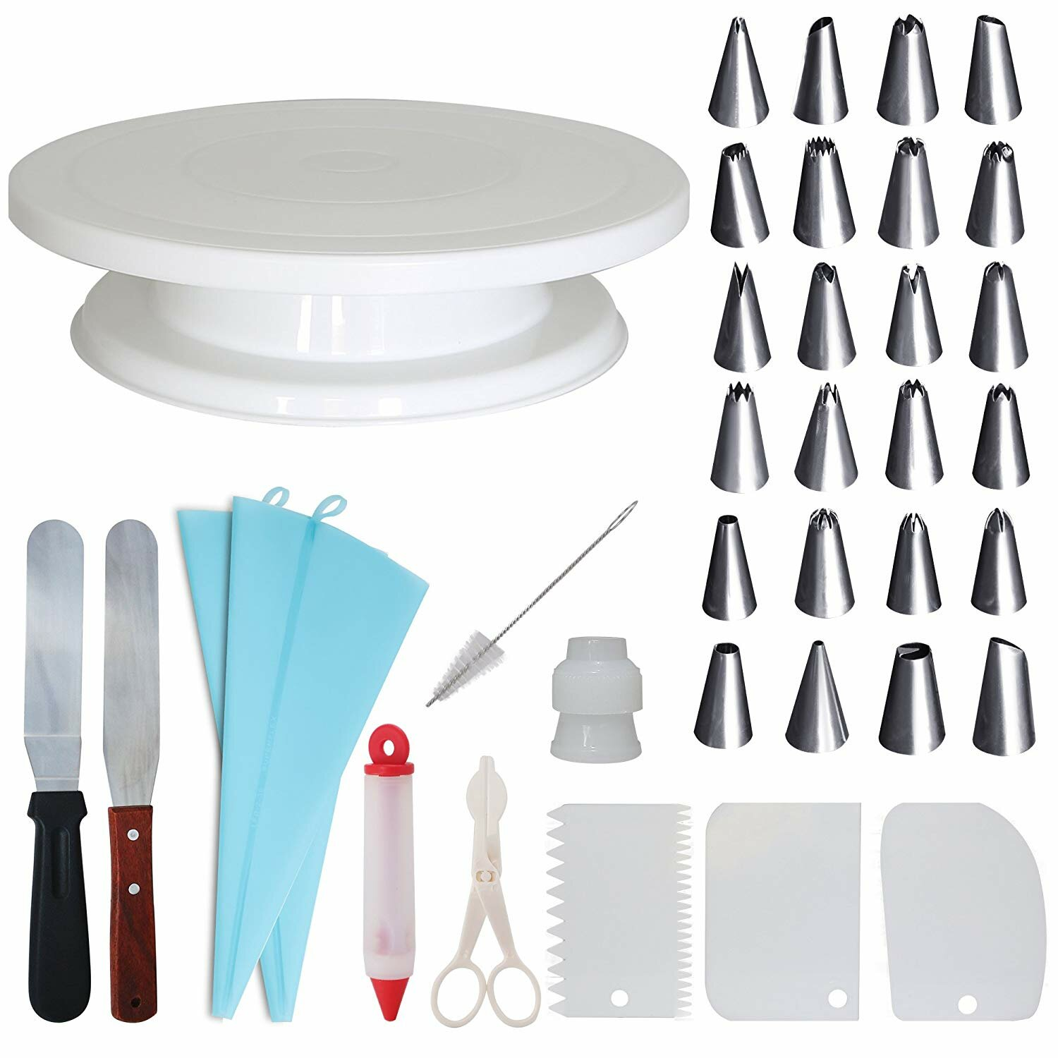 Homeries 36 Piece Cake Decorating Set Reviews Wayfair