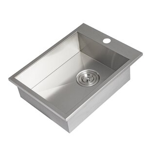 Turbo Stainless Steel Drop-in Sink By Barbeques Galore