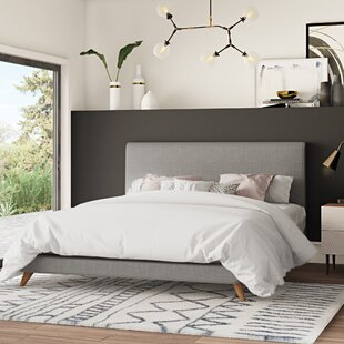 Shopping for Valle Upholstered Platform Bed by Mercury Row Reviews (2019) & Buyer's Guide