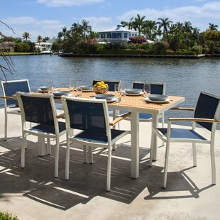 Bayline 7 Piece Teak Dining Set