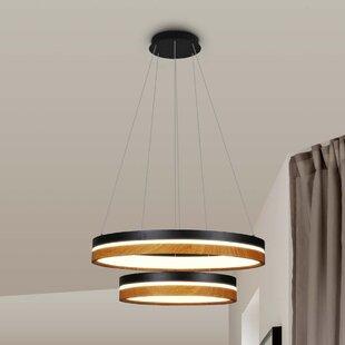 Brayden Studio Pyxis 2-Light LED Chandelier