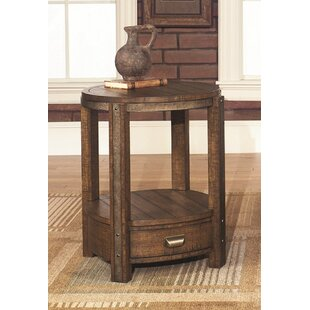 Ivette Round End Table