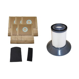 Think Crucial 8 Piece Bissell Zing Bag- Filter and Dirt Bin Filter Set