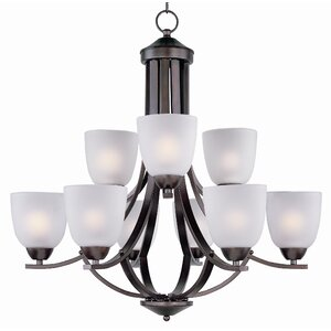 Hayden 9-Light Shaded Chandelier