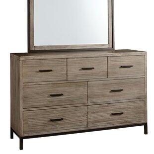 Gracie Oaks Lipsey 6 Drawer Double Dresser