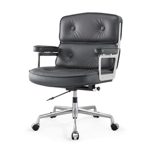 Genuine Leather Executive Chair by Meelano Great price
