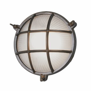 Williston Forge Quill 1-Light Flush Mount