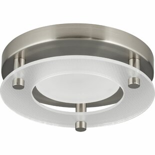 Compare & Buy Bolger 1-Light Flush Mount By Winston Porter