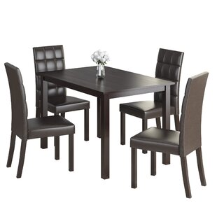 Cesar 5 Piece Dining Set