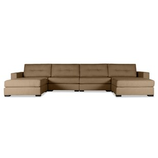 Brayden Studio Brose Modular Sectional with Ottoman