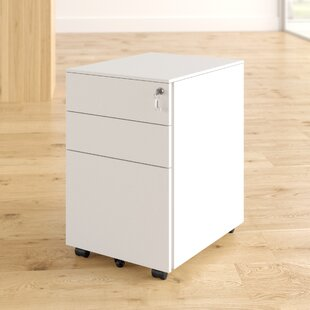 Carmella 3 Drawer Filing Cabinet By Zipcode Design