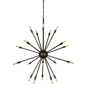 George Oliver Frizzell 24-Light Chandelier