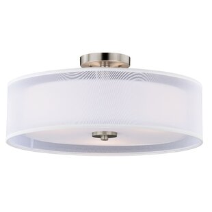 Vaxcel Nuage Semi-Flush Mount