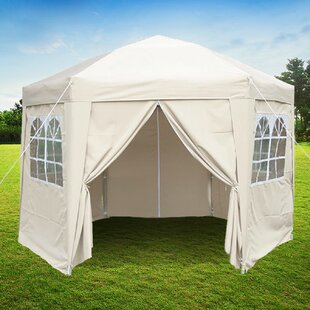 Horicon 3.5m X 3.5m Steel Pop Up Gazebo By Sol 72 Outdoor