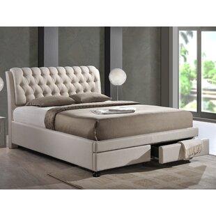Arazia Upholstered Storage Platform Bed