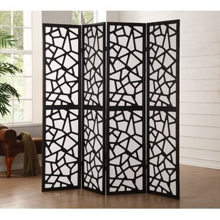 Harvey Screen 4 Panel Room Divider by Mercer41