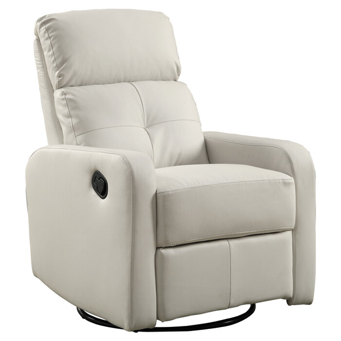 Monarch Specialties Inc. Manual Swivel Glider Recliner U0026 Reviews | Wayfair