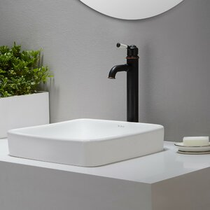 Elavou2122 Square Self rimming Bathroom Sink