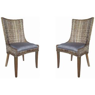 Gwendoline Ridge Upholstered Dining Chair (Set of 2)