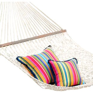 Cotton and Polyester Tree Hammock by Plow & Hearth
