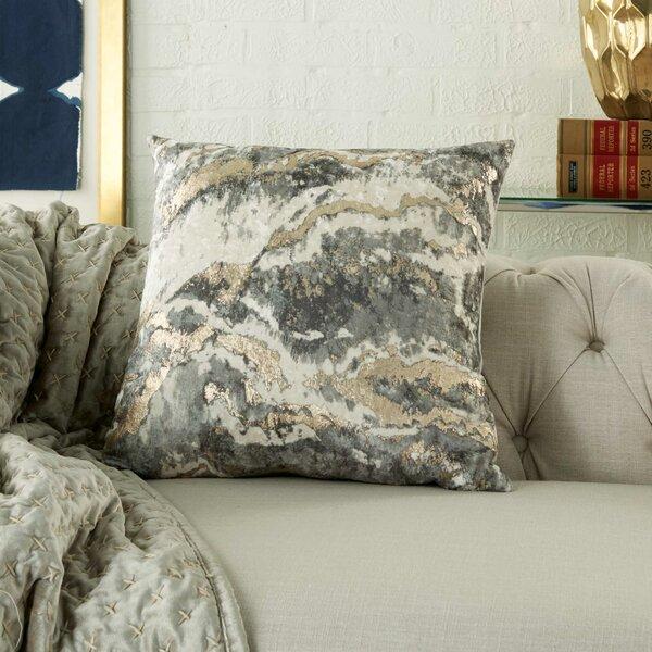 Metallic Silver Throw Pillows Wayfair