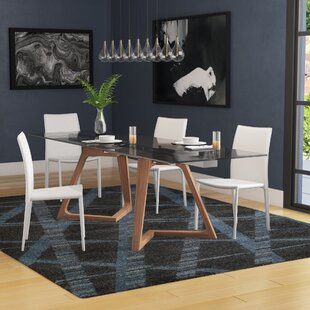 Allsup Solid Wood Dining Table by Brayden Studio