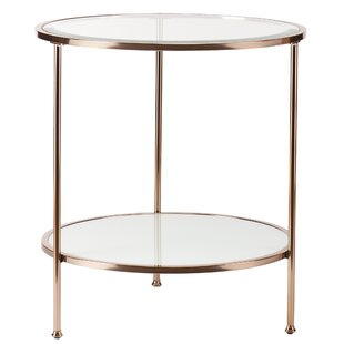 Modern Glass End Side Tables Allmodern